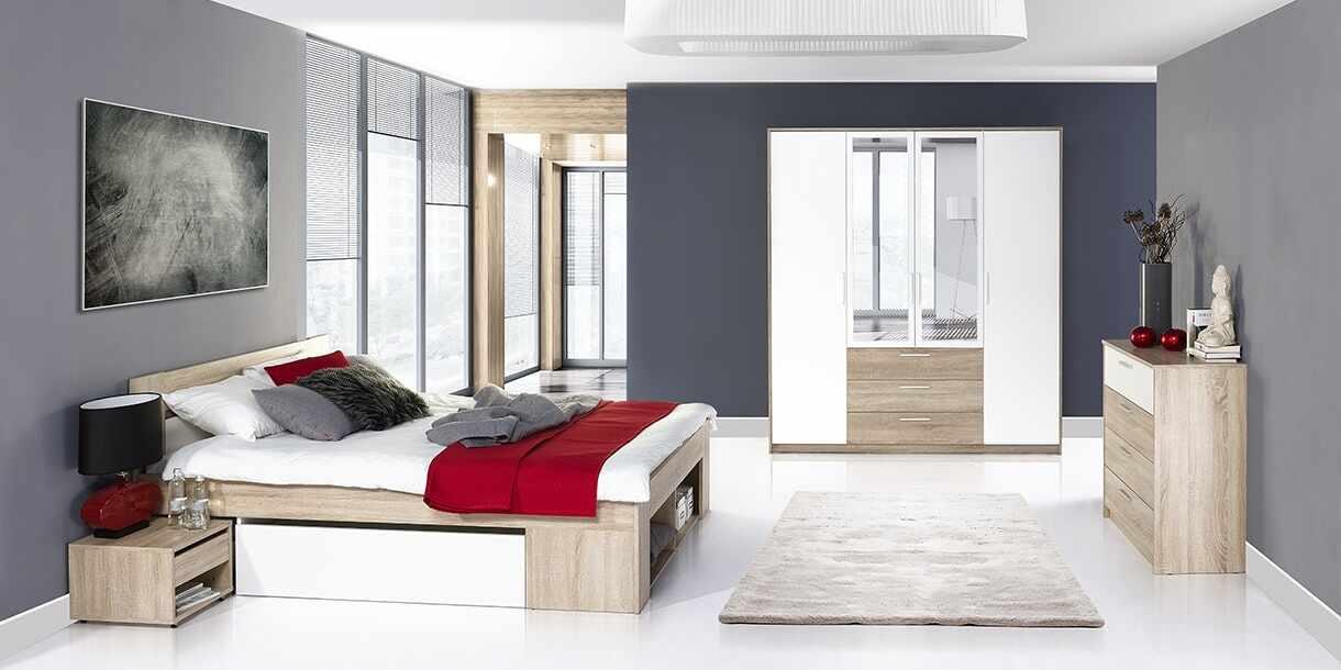 Set Mobila Dormitor 3 piese Milo la pret 3309 lei