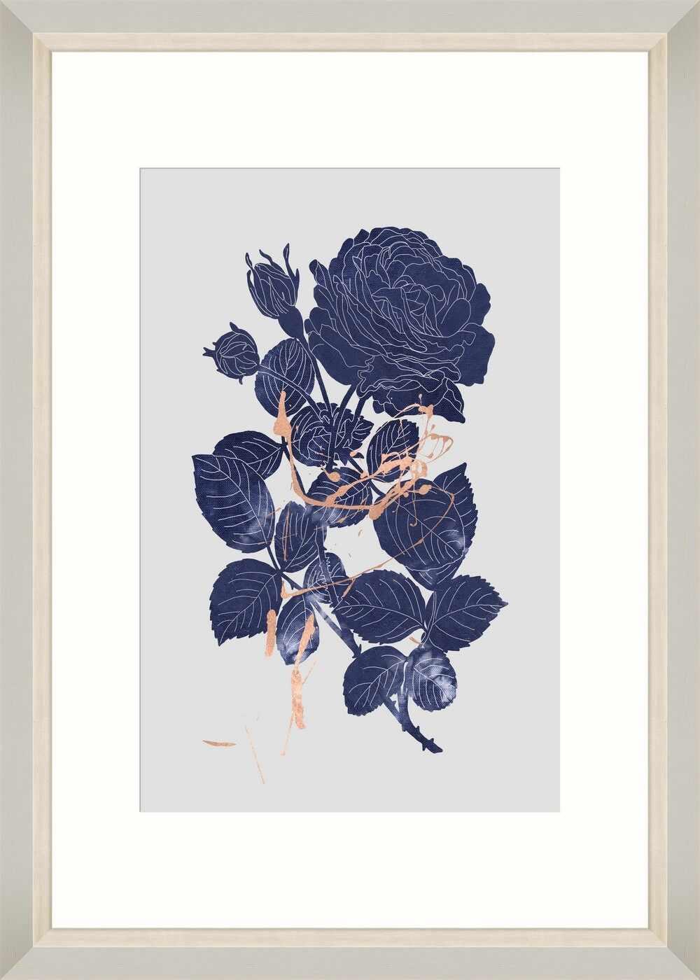 Tablou Framed Art Indigo Rose la pret 337 lei