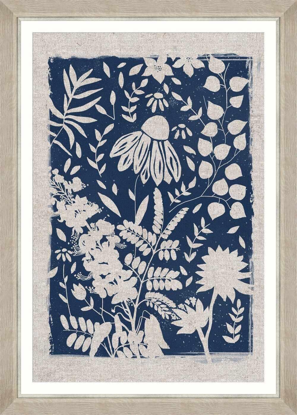 Tablou Framed Art Linocut Florals III la pret 573 lei