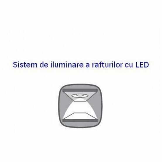 Sistem iluminare pentru vitrina Kada REG2W2D  la pret 188 lei