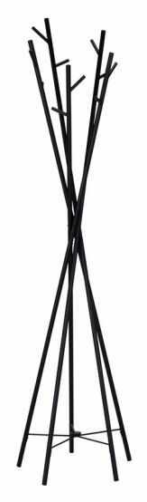 Cuiere moderne W35, otel, negru, 50x50x180 cm Lxlxh la pret 218 lei