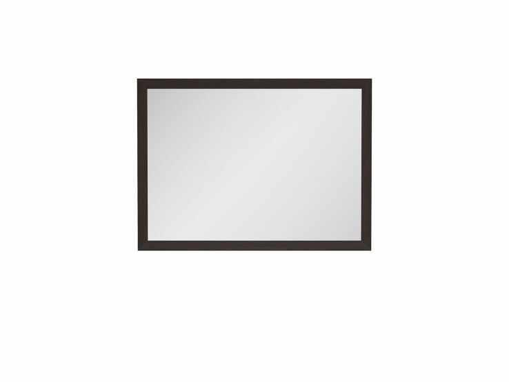 Oglinda moderna Kaspian-LUS/100, wenge, structura rama din pal infoliat, 105x2x77 cm lxAxh la pret 217 lei