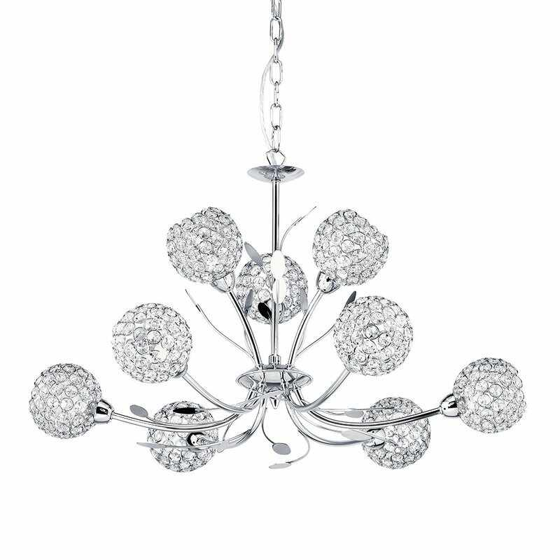 Candelabru Searchlight Bellis Chrome IX la pret 2158 lei
