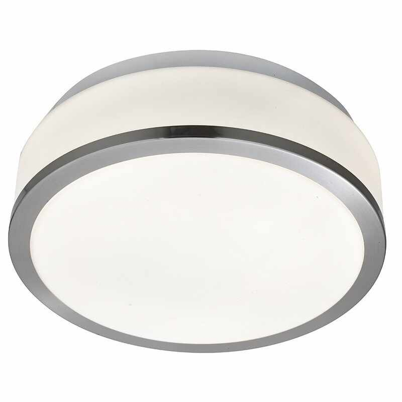 Plafoniera Searchlight Bathroom Silver Opal M