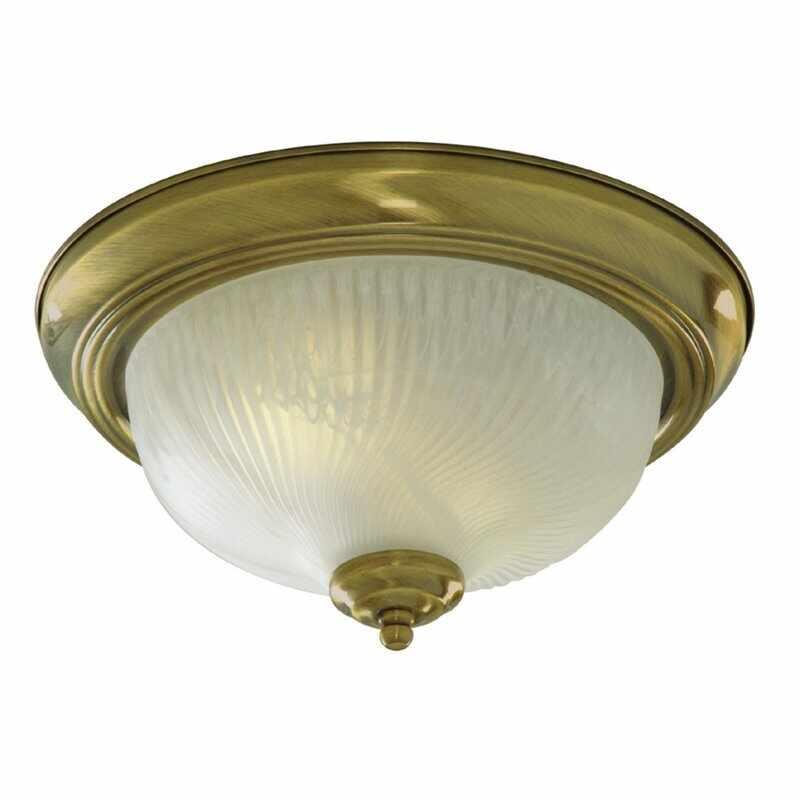Plafoniera Searchlight Flush Acid Glass la pret 257 lei