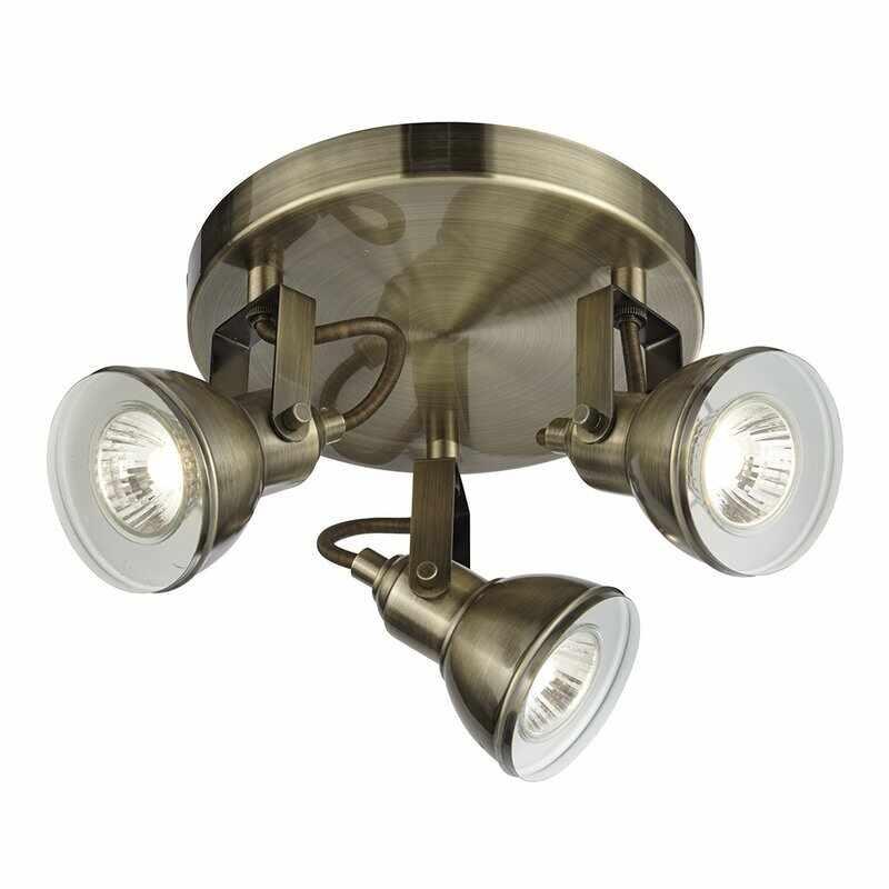 Plafoniera Searchlight Focus Brass la pret 391 lei
