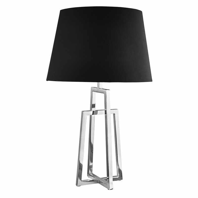 Veioza Searchlight Table Black Chrome la pret 584 lei
