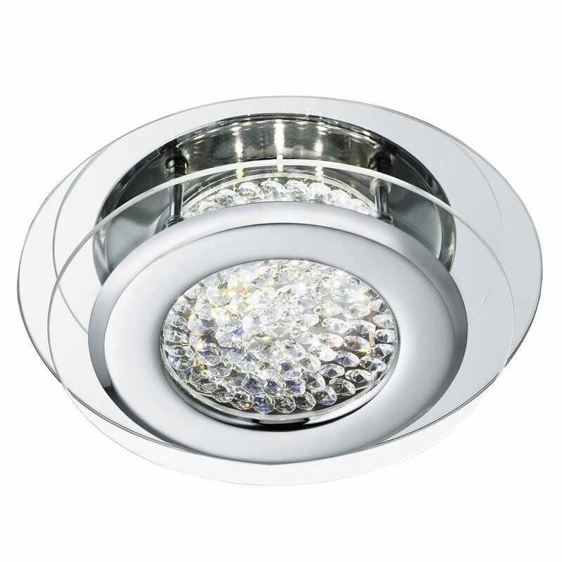 Plafoniera Searchlight Vesta Clear LED la pret 607 lei