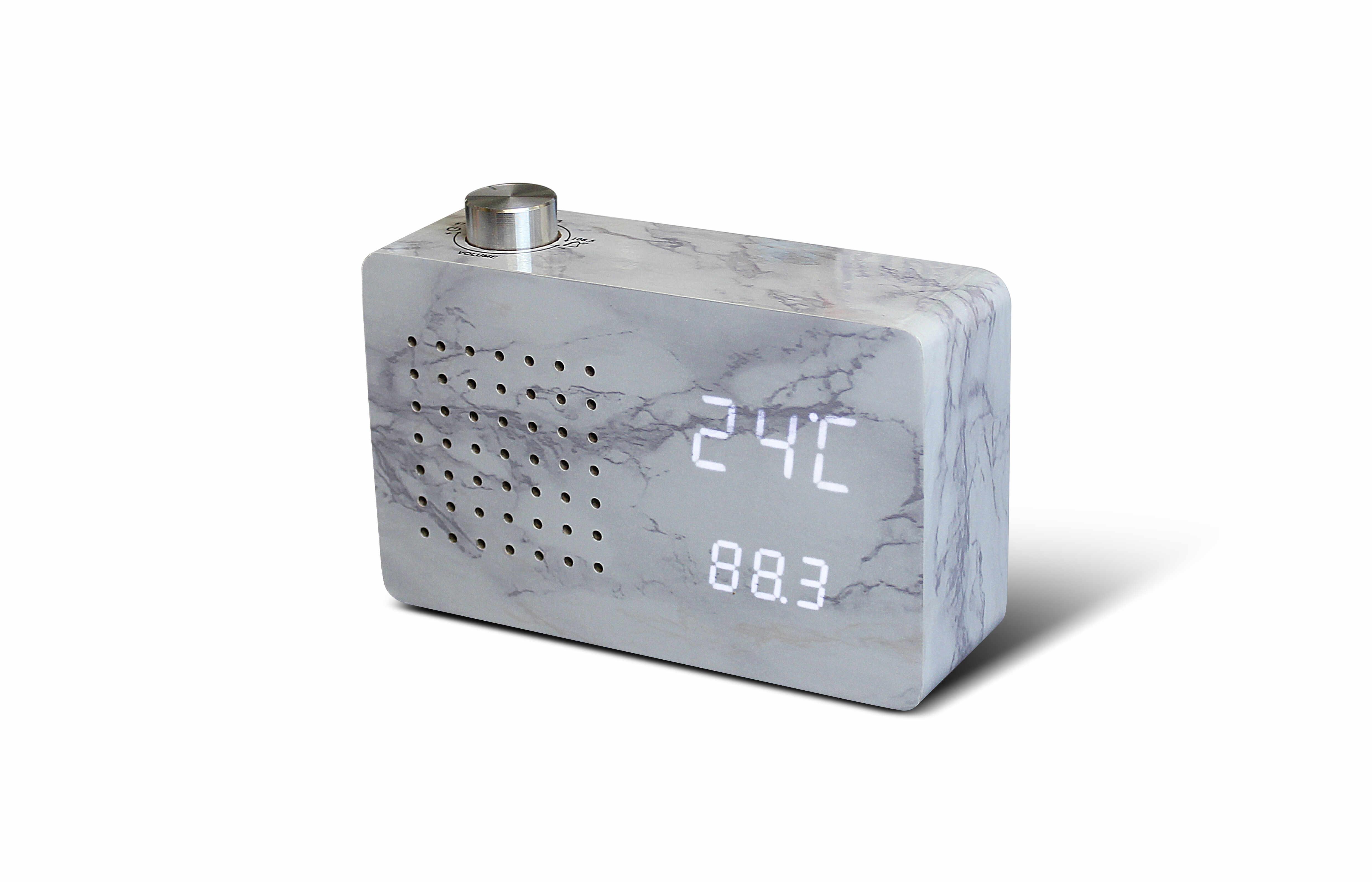 Ceas Radio Click Clock Marble la pret 337 lei