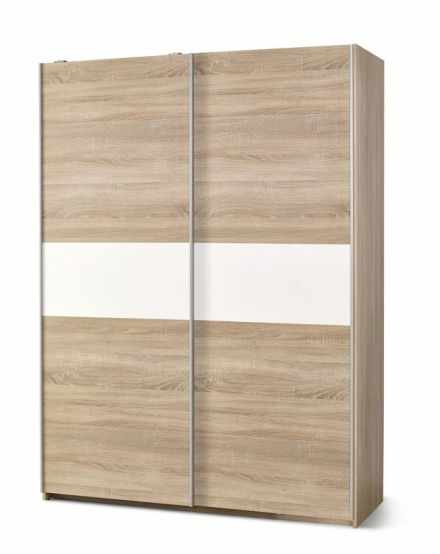 Dulap Lima S1 White / Oak
