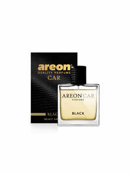Odorizant auto lichid Areon, parfum 100 ml, Black