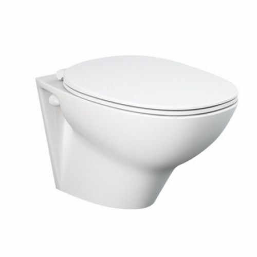 Set vas wc suspendat cu capac softclose Rak Ceramics Morning Rimless la pret 519 lei
