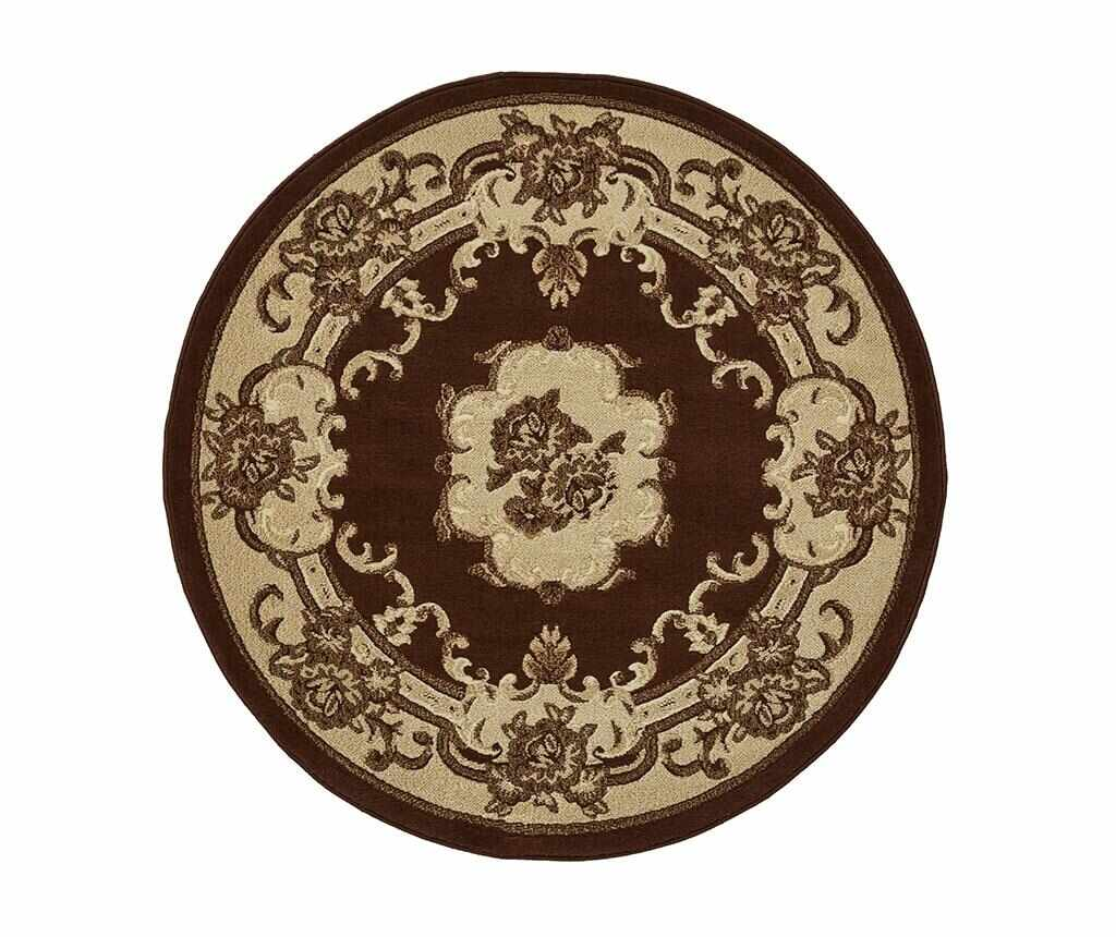 Covor Marrakesh Brown Circle 140 cm