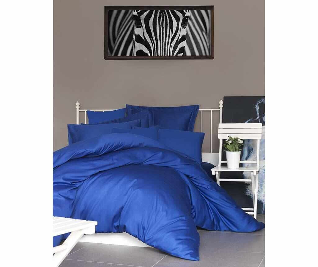 Lenjerie de pat Double Satin Supreme De Dark Blue