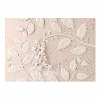Tapet format mare Bimago Beige Paper Flowers, 400 x 280 cm la pret 522 lei