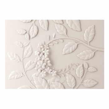 Tapet format mare Bimago Cream Paper Flowers, 400 x 280 cm la pret 522 lei