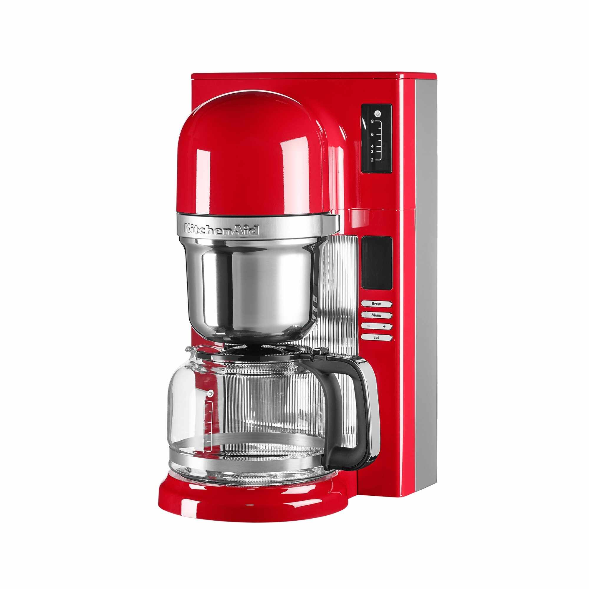 Cafetiera programabila 5KCM0802E, 1,2 L, 1250W, KitchenAid la pret 1199 lei