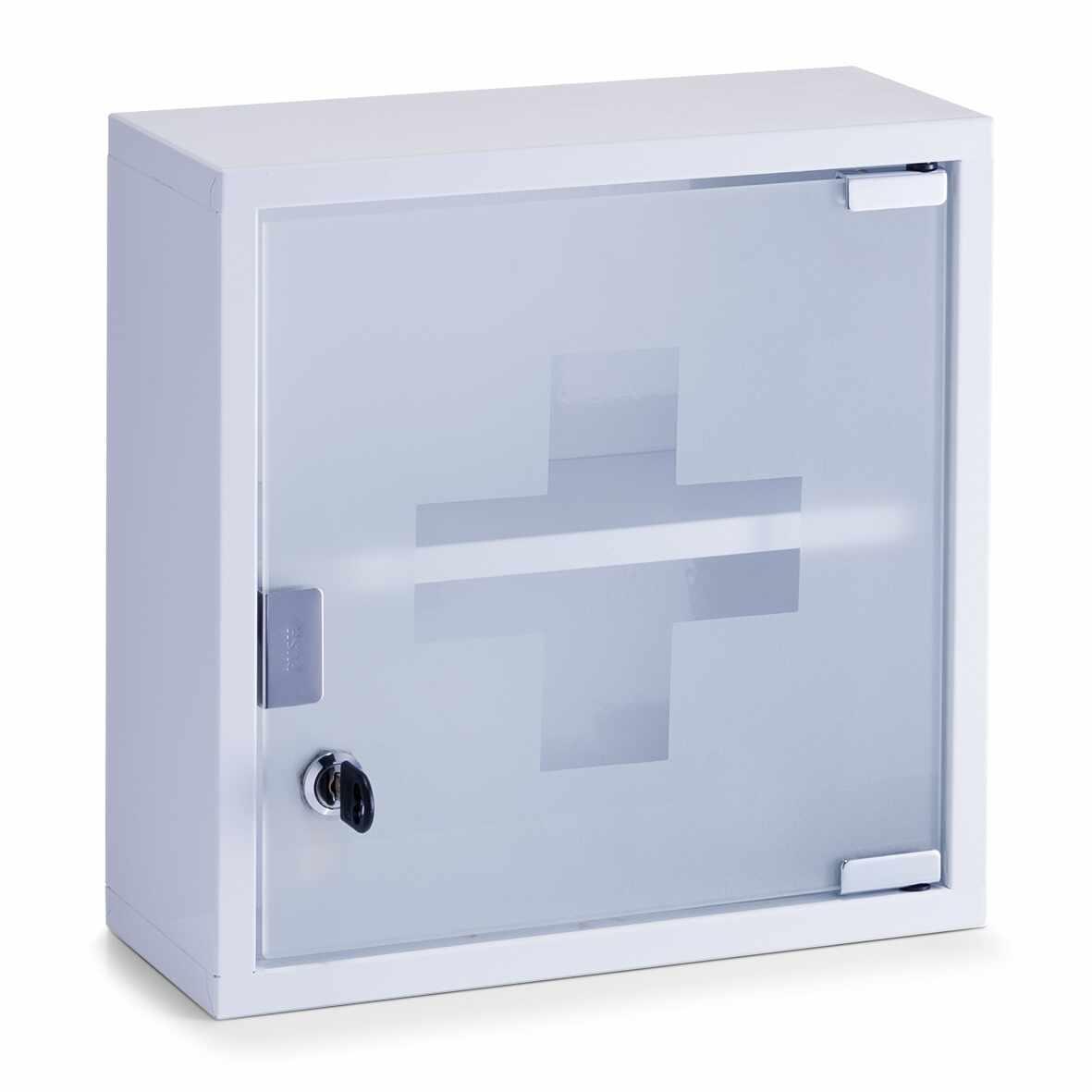 Dulap pentru medicamente, Metal White, l30xA12xH30 cm la pret 153 lei