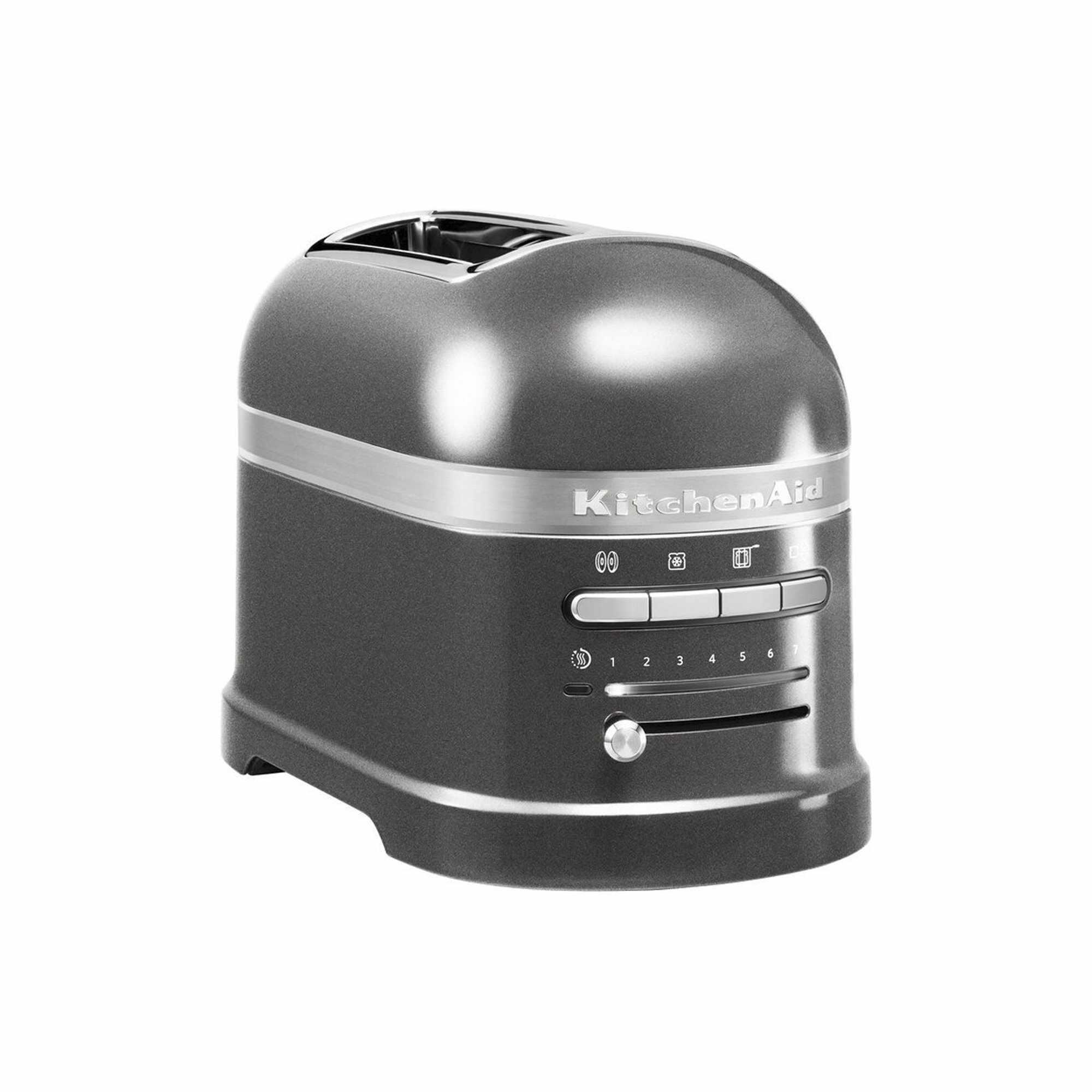 Toaster 2 sloturi Artisan New 5KMT2204E, 2500W, KitchenAid la pret 1299 lei