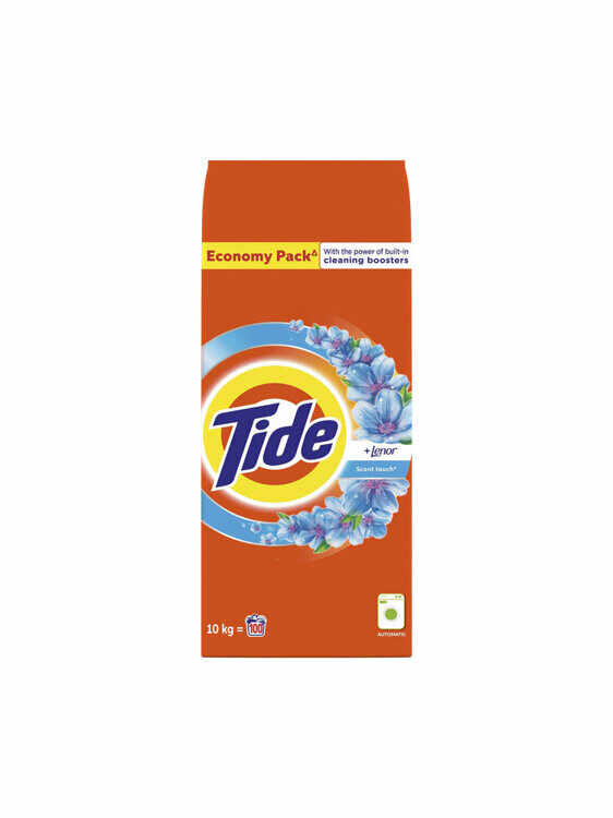 Detergent automat Tide 2in1 Lenor Touch, 100 spalari, 10 kg