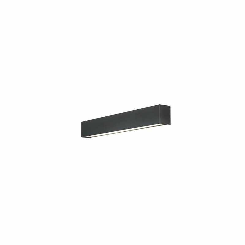 Aplica Nowodvorski Straight LED Wall Graphite S la pret 229 lei