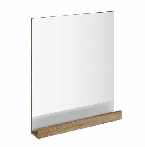 Oglinda baie Ravak Concept 10° cu polita 65x75x11cm nuc inchis la pret 625.5 lei