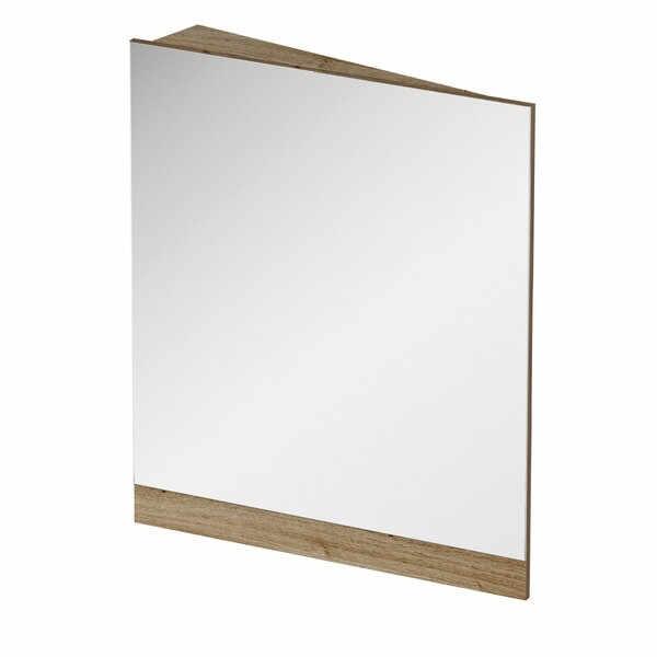 Oglinda de colt Ravak Concept 10° 65x75x15cm stanga nuc inchis la pret 713.7 lei