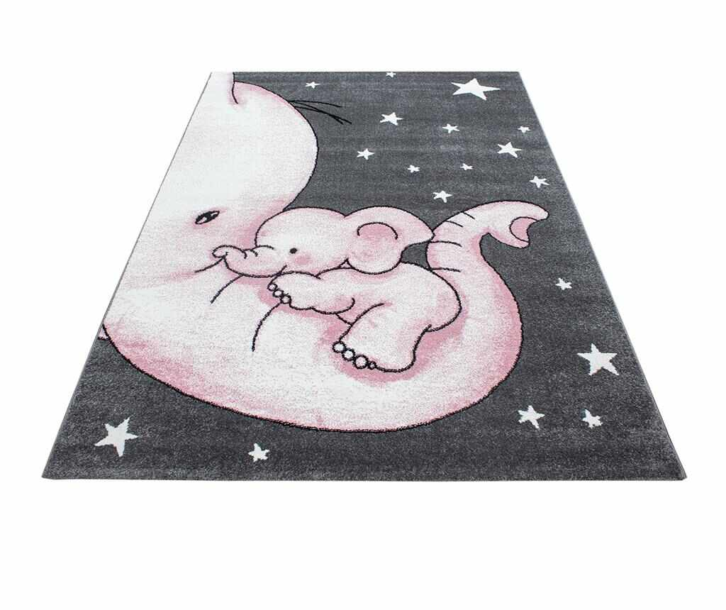 Covor Baby Elephant Pink 120x170 cm
