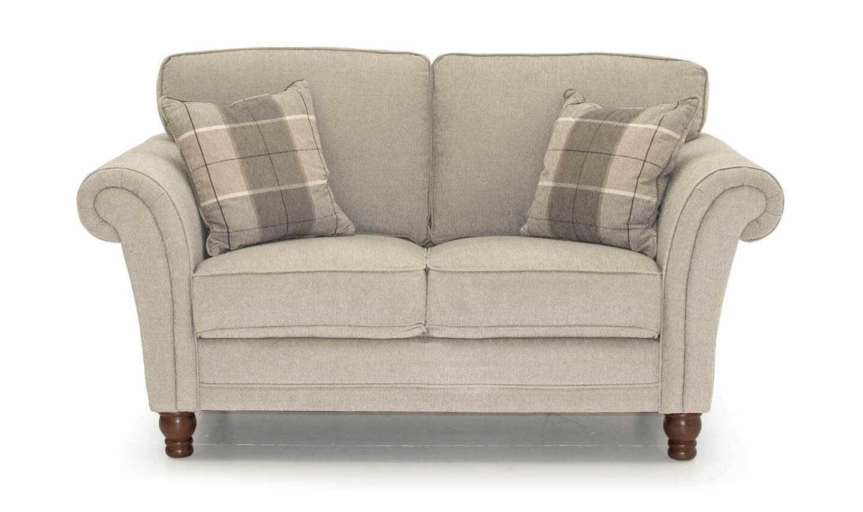 Canapea fixa tapitata cu stofa, 2 locuri Helmsdale Beige, l165xA90xH95 cm la pret 2289 lei