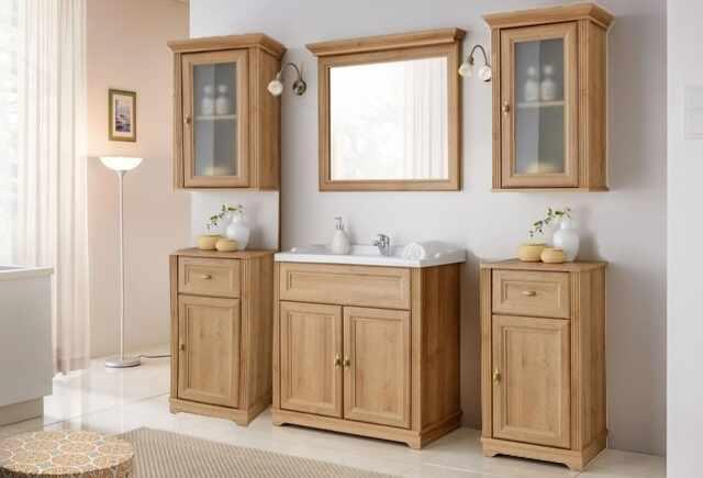 Set Mobilier pentru baie, 7 piese, Palace Riviera la pret 2736 lei