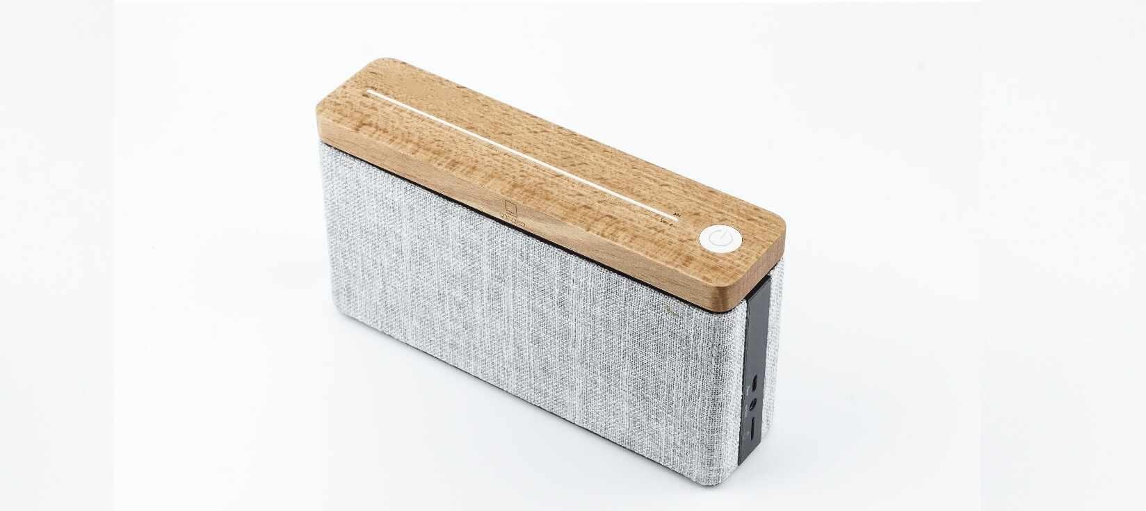 Boxa Bluetooth portabila HiFi Square Maple la pret 519 lei