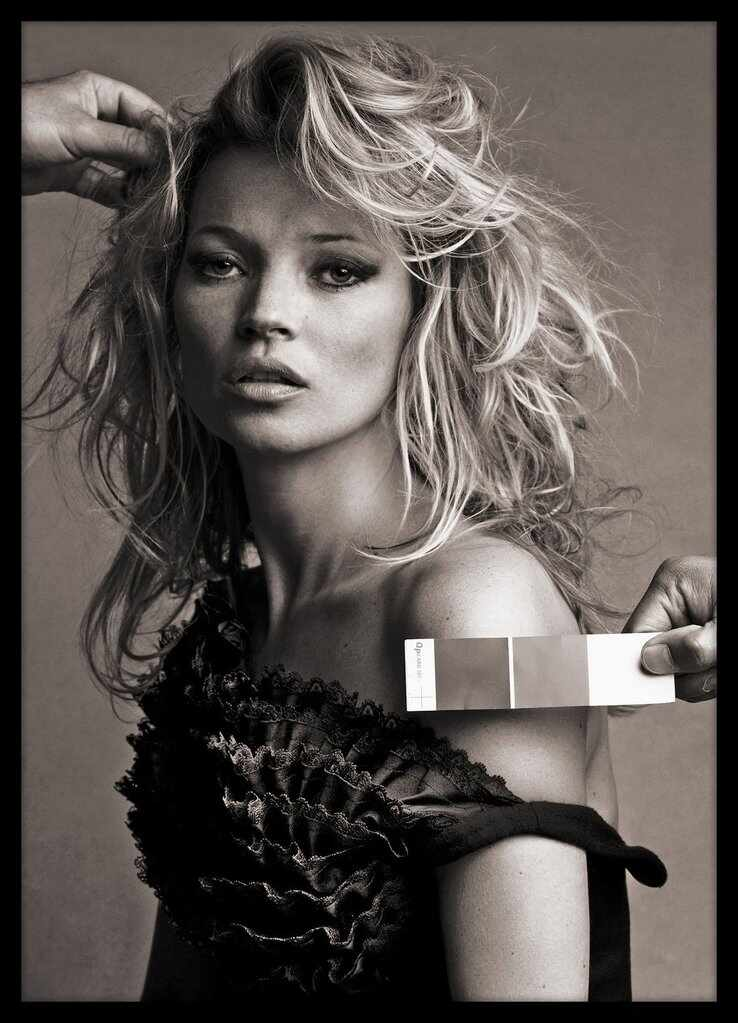Tablou Poster Iconic Collection Kate Moss 2, 50 x 70 cm la pret 246 lei