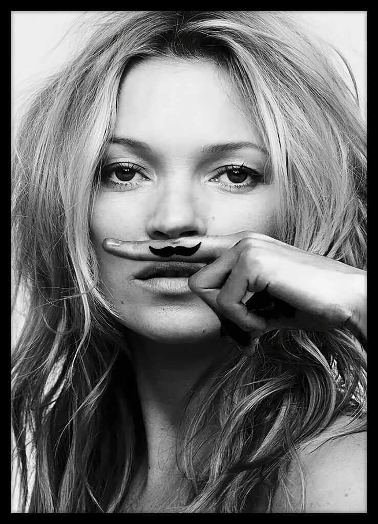 Tablou Poster Iconic Collection Kate Moss 5, 50 x 70 cm la pret 246 lei