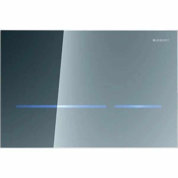 Clapeta electronica Geberit Sigma80 finisaj oglinda pentru rezervor cu grosimea 8 cm la pret 4042 lei