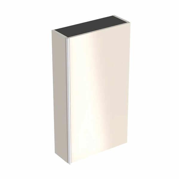 Dulap lateral suspendat gri nisip Geberit Acanto 1 usa 45 cm la pret 2417 lei