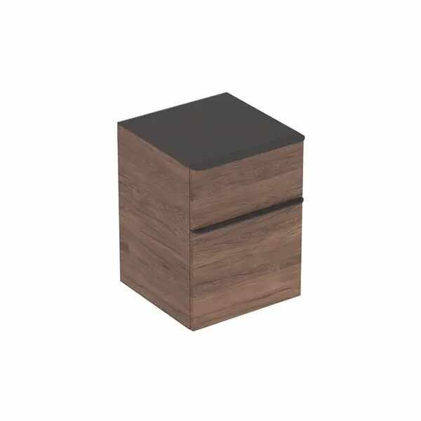 Dulap mic suspendat Geberit Smyle Square nuc 2 sertare 45 cm la pret 2293 lei