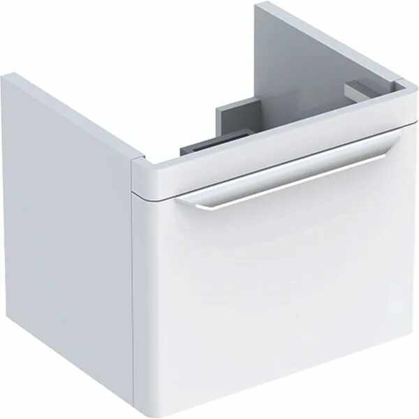 Dulap baza pentru lavoar suspendat alb Geberit Myday 1 sertar 50 cm la pret 3597 lei