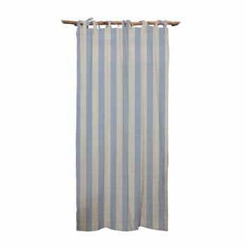 Draperie Linen Cuture Cortina Hogar Blue Stripes, albastru la pret 393 lei