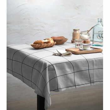 Față de masă Linen Couture Blue Lines, 140 x 140 cm la pret 222 lei