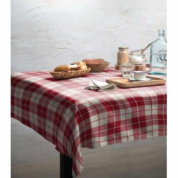 Față de masă Linen Couture Cuadros, 140 x 200 cm la pret 269 lei