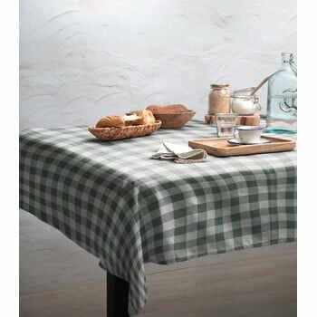 Față de masă Linen Couture Green Vichy, 140 x 200 cm la pret 269 lei