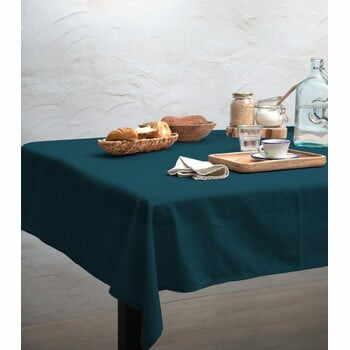 Față de masă Linen Couture Turquoise, 140 x 140 cm la pret 222 lei