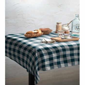 Față de masă Linen Couture Turquoise Vichy, 140 x 200 cm la pret 269 lei