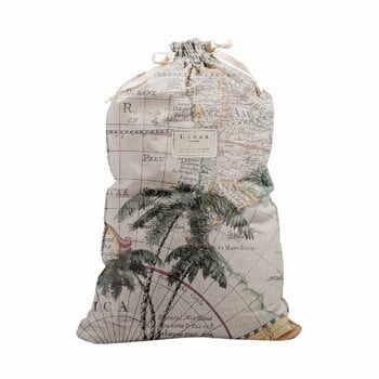 Săculeț textil pentru haine Linen Couture Bag Palm Trees, înălțime 75 cm la pret 183 lei