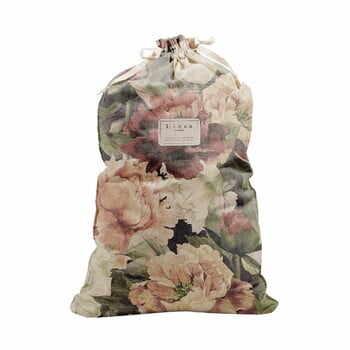 Săculeț textil pentru haine Linen Couture Bag Spring Flowers, înălțime 75 cm la pret 183 lei