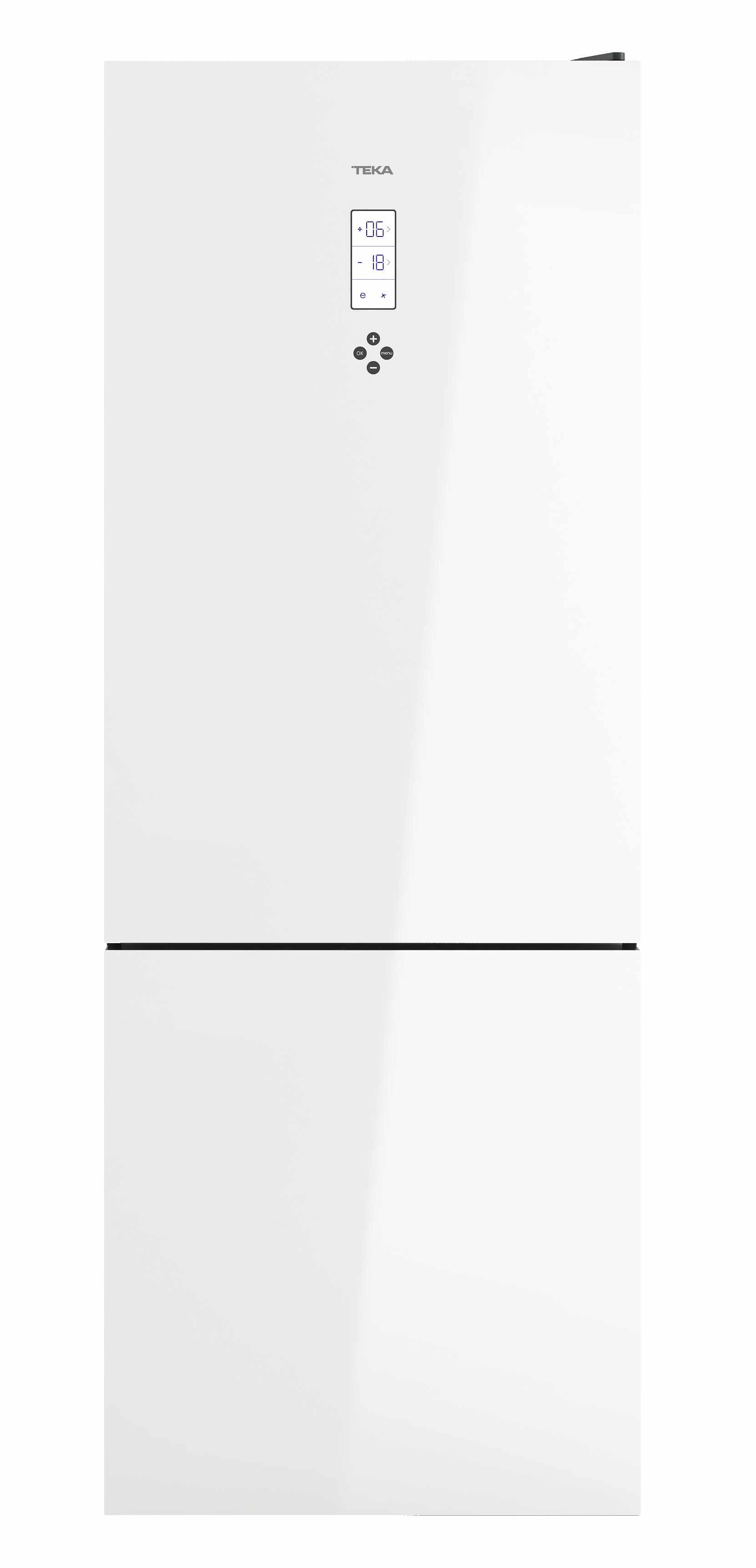 Combina frigorifica Teka Maestro RBF 78720 GWH LongLife No Frost IonClean 461 litri net clasa A++ Cristal White la pret 4965.16 lei