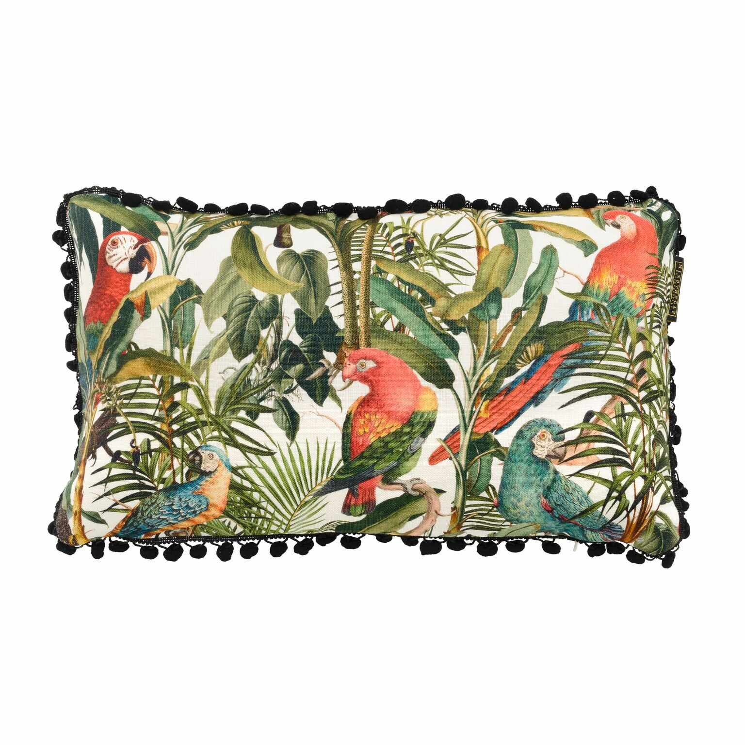 Perna decorativa Parrots of Brasil Multicolour, L50xl30 cm la pret 423 lei