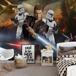 Fototapet Disney Duplex 2.54Mx1.84M Star Wars 1691P4