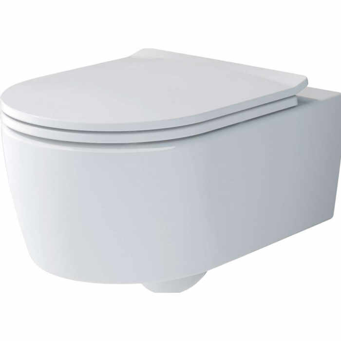 Set vas wc suspendat VilleroyBoch Soul Direct Flush cu capac slim soft close