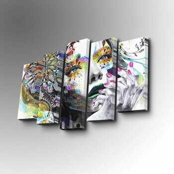 Tablou decorativ Art Five, 747AFV1362, Multicolor la pret 124.99 lei